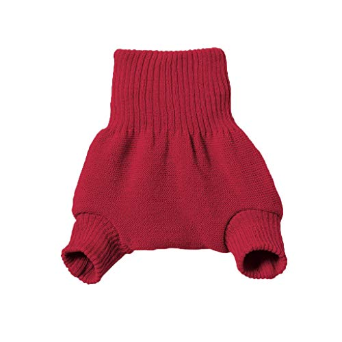 Disana 100% Organic Wool Diapers Cover/Soaker/Over Pants Made in Germany (98-104 (2-3 Years), Red)