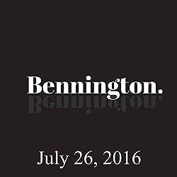 Bennington, July 26, 2016