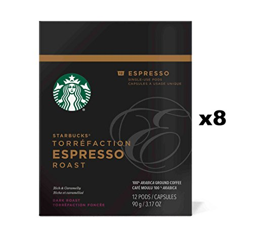 Starbucks Verismo Pods 96 Count (Espresso) by Starbucks