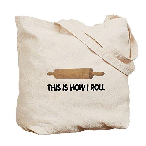 CafePress Unique Design How I Roll Baking Tote Bag - Standard Multi-color by CafePress