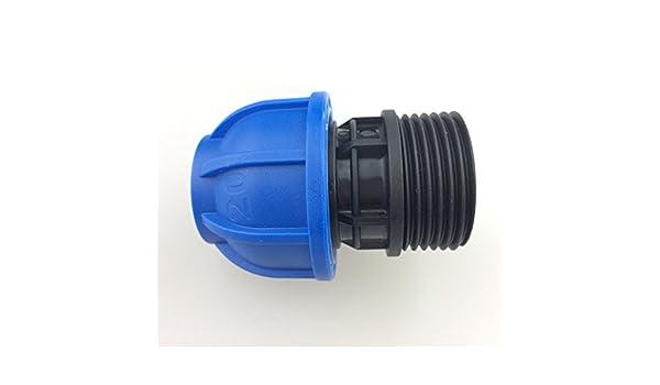 Solución para líneas de aire comprimido Conexión de aire comprimido de aire comprimido Macho recto gt200100 DN20) * 1: Amazon.es: Bricolaje y herramientas