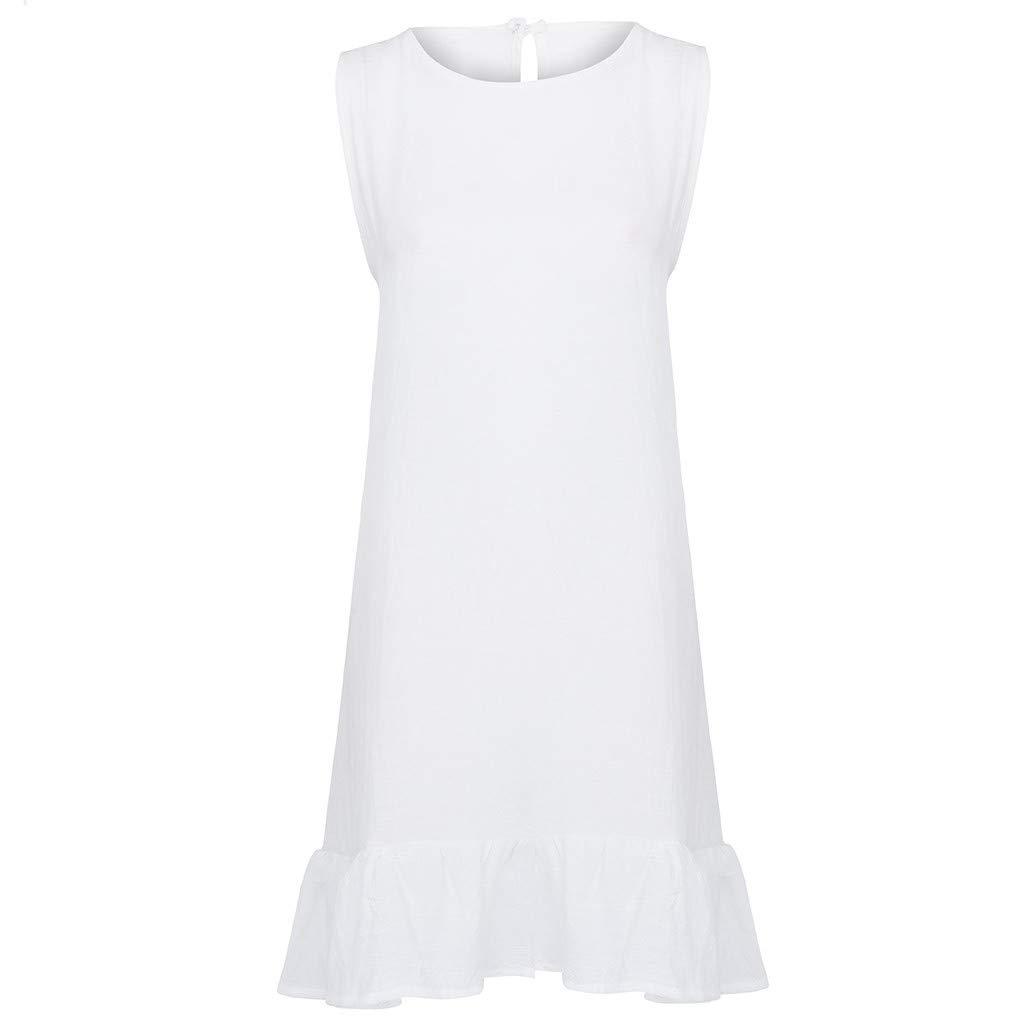 Vectry Vestidos para Playa Mujer Vestidos De Verano Vestidos De Gasa Vestidos Estampados Largos Vestidos Ni/ña Mini Vestidos Mujer Vestidos