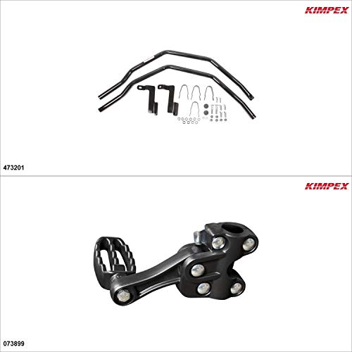 Kimpex – Fender Guards Kit – Black, Honda Rancher 420 2014-18