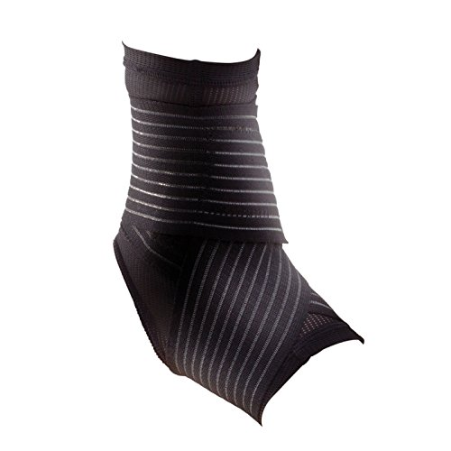DonJoy Performance Figure 8 Ankle Sleeve with Straps for Moderate Support - Ankle Sprains, Strains, Inflammation, Swelling, Pain - Medkum