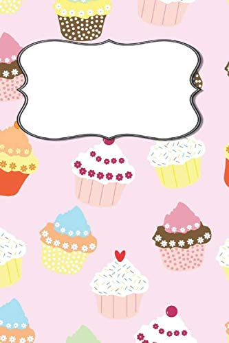 My Notebook: Cupcake Design   Write Your Title   Printed in America Notebook /...