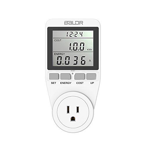 (BALDR US Electricity Monitor, Power Energy Usage Meter, Kill A Watt)