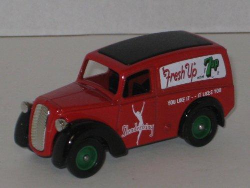 lledo-days-gone-die-cast-truck-model-58012-1950-morris-z-van-with-fresh-up-with-slenderizing-7-up