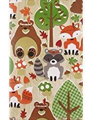 - Woodland Creatures Fall Festival Vinyl Flannel Back Tablecloth (52