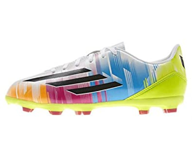 separation shoes 13468 49419 adidas F10 TRX FG J Messi, Fußballschuh Kinder, Multi-Coloured - Größe  5.5 Amazon.de Schuhe  Handtaschen