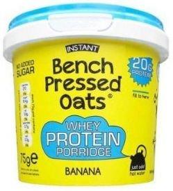 Price comparison product image OOMF Instant Whey Protein Porridge 8 x 75g Pot - Banana