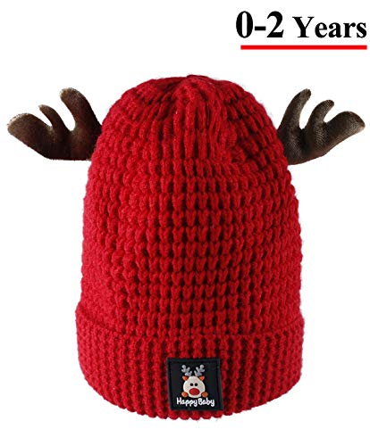 52740b3737f Jual Baby Winter Warm Funny Deer Beanie Hat - Lovely Knitted