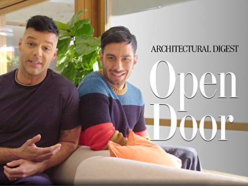 Inside Ricky Martin's Serene Los Angeles - Architectural Door