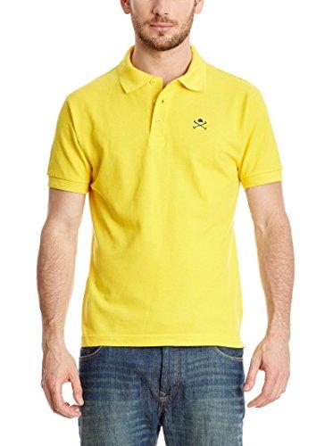 POLO CLUB Poloshirt Academy Cro gelb M