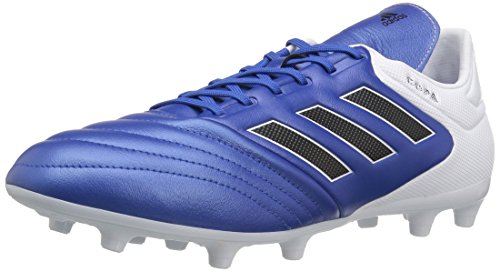 adidas Men's Copa 17.3 FG Soccer Shoe, Blue/Black/White, (10 M US)