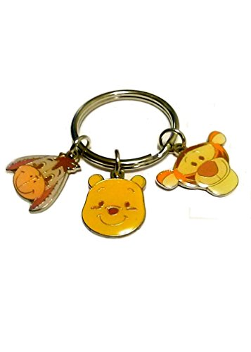 Winnie the Pooh Key Chain with Friends Tigger and Eeyore (Eeyore Character)