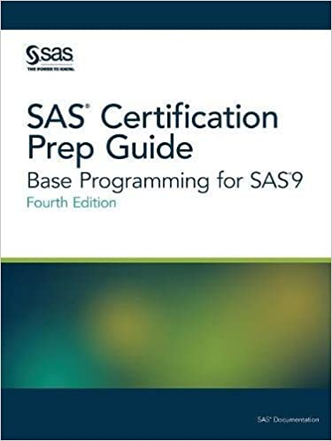 Amazon sas certification prep guide base programming for sas 9 sas certification prep guide base programming for sas 9 fourth edition 4th edition fandeluxe Image collections