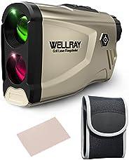 Golf Rangefinder Laser rangefinder Range Finder Golfing 650 Yards 6X Magnification High-Precision Slope Functi