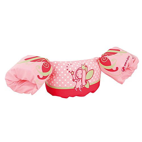 Sevylor Arm Bands Puddle Jumper Deluxe Fairy, Pink Toddler swimming aids,...