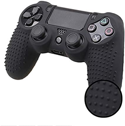 Camouflage Silicone Rubber Skin Grip Cover Case For Playstation 4 Ps4 Controller Sports Outdoors