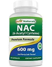 Best Naturals NAC - N Acetyl Cysteine 600 mg 120 Capsules - n Acetyl cysteine - Powerful antioxidant