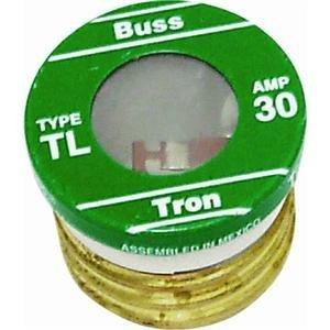 Bussmann TL-30 30 Amp Time Delay, Loaded Link Edison Base Pl