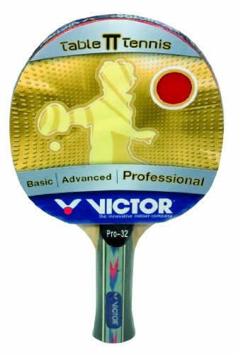 VICTOR Pro Table Tennis Bat - 32, Grey, One size, 885 / 0 / 5 by Victor by Victor