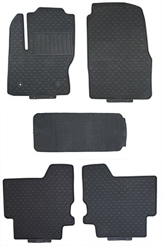 Tmb Motorsports Black Rubber All Weather Floor Mats For