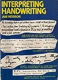 img - for Interpreting handwriting book / textbook / text book