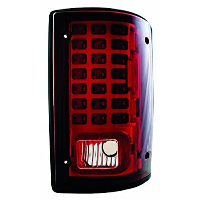 IPCW LEDT-502CR Ruby Red LED Tail Lamp - Pair: Automotive