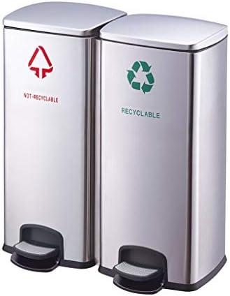 キッチンゴミ箱/ごみ箱 ペダルのゴミ箱60リットルの大容量の病院モールの通路の分類のゴミ箱 ビン