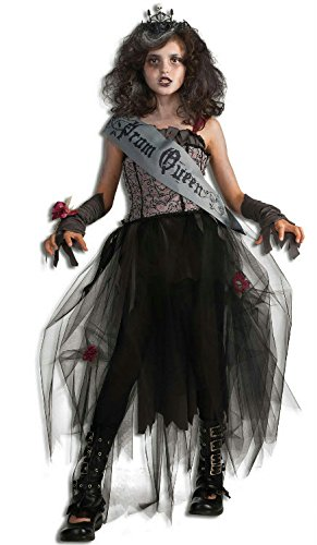 Rubie's Deluxe Goth Prom Queen Costume - Medium (8-10) - Gothic Girl Halloween Costume
