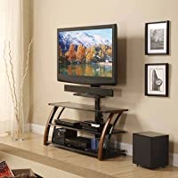 Whalen 3-in-1 Gaming Theater TV Console - Brown