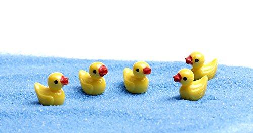 Micro Landscape Design Miniature Yellow Duck Fairy Garden Mini Ducklings Cute Terrarium Decorations (10)