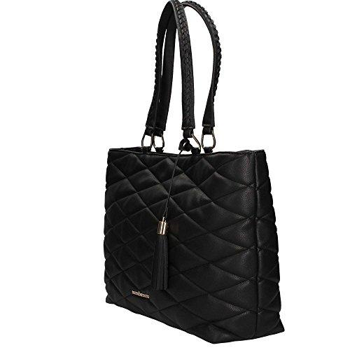 RoccoBarocco ROBS1PY02 Shopping Bag Mujer Negro UNICA