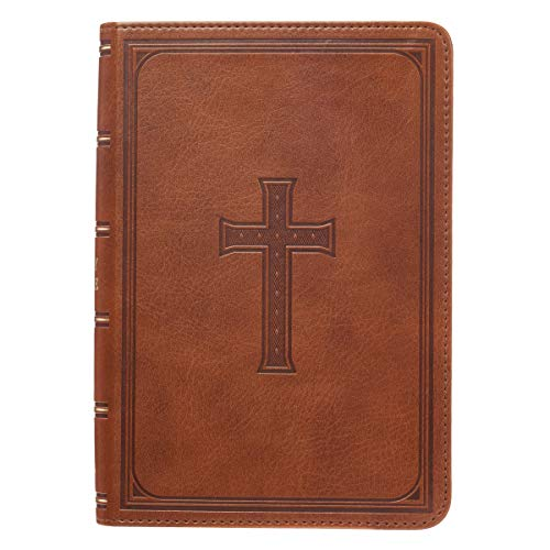 Holy Bible: KJV Large Print Compact Edition: Tan ()