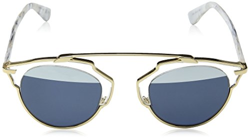 de Christian Cn Sol Dorado Coral White Gold Blwht Diorsoreal para 90 Marble 1TL Gafas Mujer 48 Dior X4r6wqX