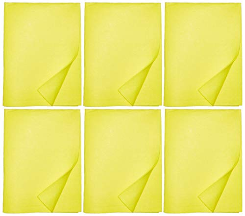 Absorbent Super Shammy. Car Sham and Automotive Detailing Cleaning Towels. German Chamois Cloths for Drying. Absorbent Synthetic Shammy Kitchen Cleaning Rags. Multiple Colors.