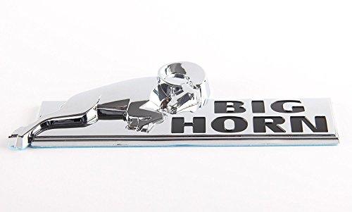 BIGHORN Emblem Badge 3D Stickers OEM BIG HORN Fender for Dodge RAM 1500 RAM 2500 3500 Mopar (Dodge Ram 3500 Horn)
