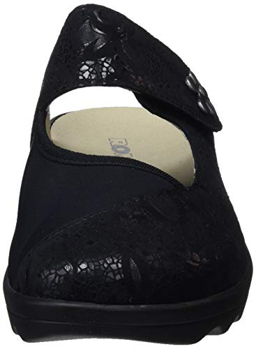 12 Estar Para Romika Casa Negro schwarz Gina 117 Mujer Por 100 Home Zapatillas De E84xXrq4f