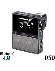 HIFI WALKER HX Sport Bluetooth Hoher Auflösung MP3 Player Mini Clip auf verlustfreie digitale Audio Player mit 16 GB Speicherkarte, unterstützt bis zu 256 GB
