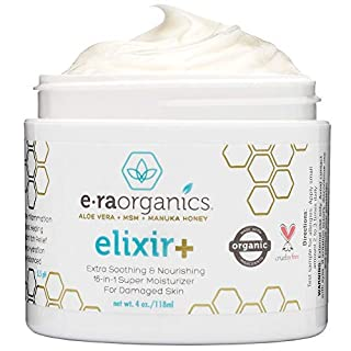 Era Organics Anti Itch Skin Rash Cream - Extra Strength 16-in-1 Itch Relief Cream for Eczema, Psoriasis, Dermatitis Prone Skin - Soothing Dry Itchy Skin Relief with Colloidal Oatmeal & Chamomile 4oz