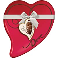 Dove 24-Piece of 9.82-Ounce Valentine's Assorted Chocolate Candy Heart Gift Box