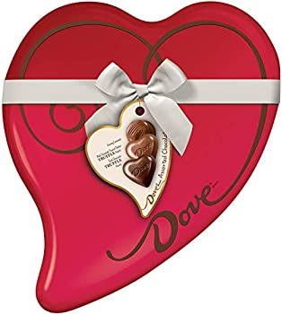 Dove 24-Piece of 9.82-Ounce Valentine's Chocolate Candy Heart Gift Box