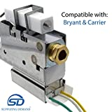 Supplying Demand LH680005 Pilot Burner Assembly for HVAC Systems Compatible with Bryant & Carrier
