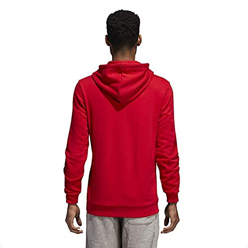Hoodie Trefoil Adidas Red Originals Men's Collegiate xs wFPfOqP