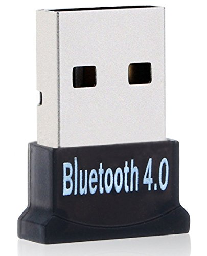 Bluetooth USB Dongle, ANLENG Bluetooth 4.0 Adapter for PC with Win 10, 8, 7, XP Support Headphone, Speakers, etc