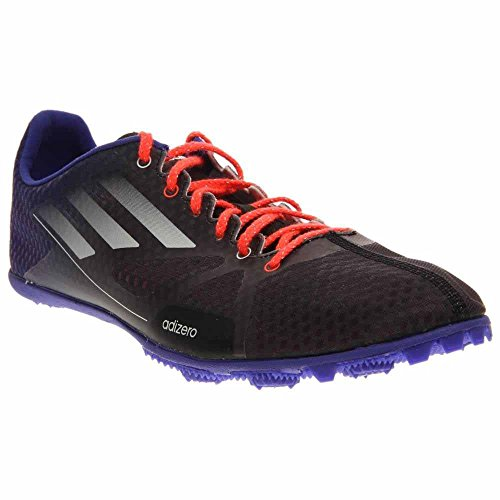 Adidas Mens Adizero Ambitie M Hardloopschoen Nacht Flits / Wit / Zonne-rood