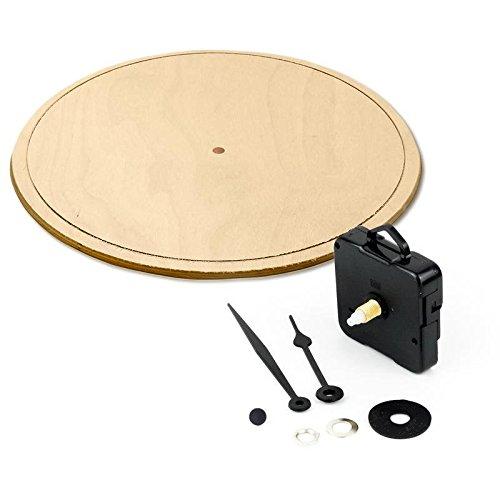 Lupia Meccanismo orologio movimento al quarzo con pannello diam.32 cm