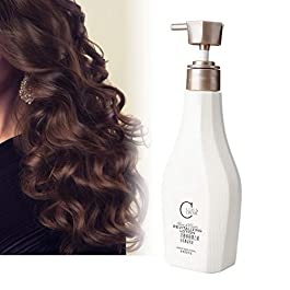 280ML Moisturizing Hair Styling Elastin Volumizing Gel Curl Enhancer, Long Lasting Anti Frizz Nourish Damaged Hairline Refreshing and No Greasy Feeling Hair Styling Gel