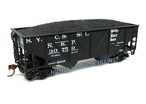 2-Bay Hopper w/Coal Load, NKP #30759 ()